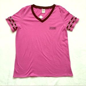 NWT Pink Victoria's Secret Tee